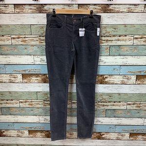 Gap 1969 Women's Size 26r Corduroy Legging Jeans